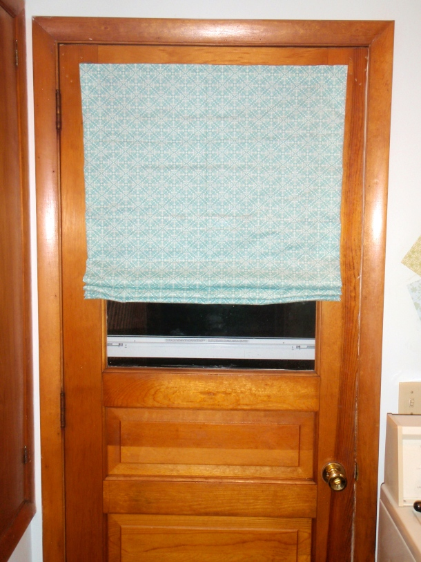 Fabric Shade from Mini Blinds