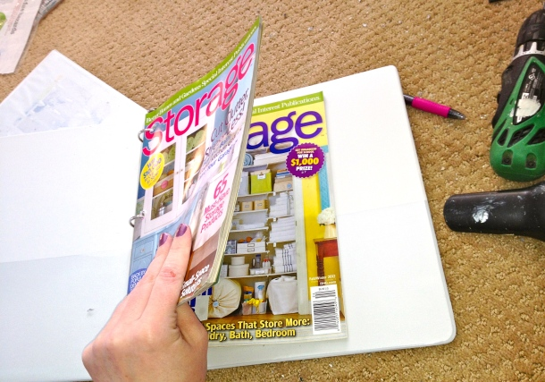 Storage Mag Binder